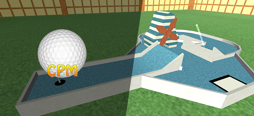 Custom Pocket Minigolf